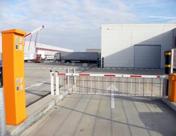 Toegangscontrole logistieke site Oostende